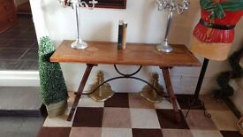 Barker and Stonehouse hall table