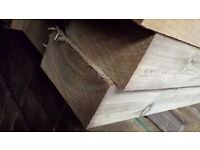 🌟 Pressure Treated Wooden Railway Sleepers