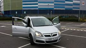 VAUXHALL ZAFIRA 7 SEATER 12 MONTHS MOT FULL SERVICE HISTORY CLEAN CONDITION IN AND OUT