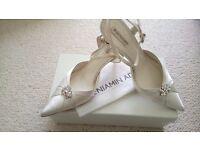 Benjamin Adam's wedding shoes