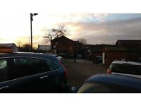 Car Pitch. Car Sales Area with Office, CCTV and Floodlights. Stockport. Main Road Location.