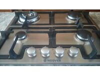 Good as new Hoover gas hob. Not suitable for disabled mother! Hardly used