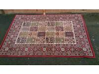 Carpet in good used condition! size 193x133cm !possible delivery!