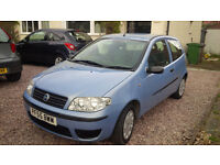 immaculate Low Milage Fiat Punto Active 1.2 3dr