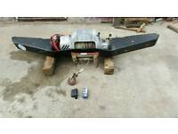Landrover Front winch Bumper with winch