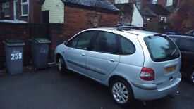Renault scenic fully loaded.... look