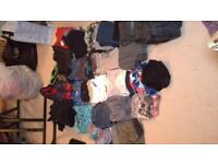 bundle of boys clothes age 7yrs to 8yrs