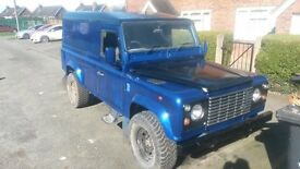 land rover defender 110 van