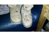 Real ugg boots size 4.5