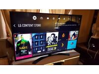 """LG 55"""" 55UH661V SUPER Smart 4K led TV,built in Wifi,Freeview HD,Excellent condition"""