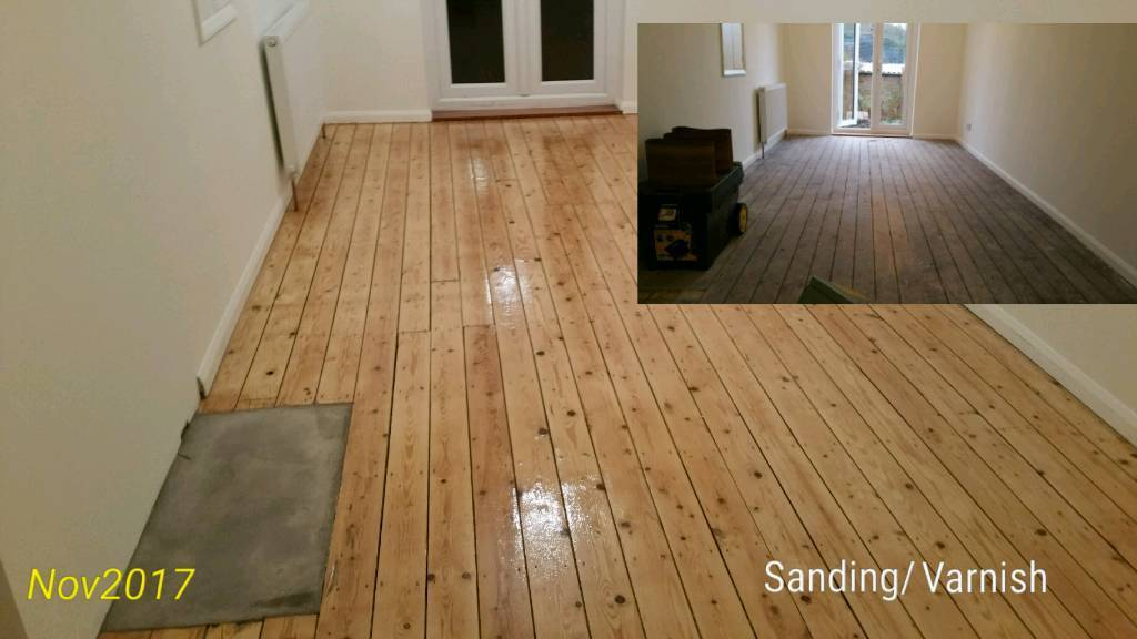 Wood Floor Sanding 10 Varnishing Installation London In