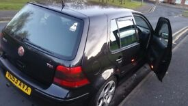 Black Golf 1.9 diesel 5 door, drives smoothly, clean body no visible marks, sound engine