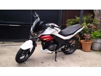 Sinnis RS125 Motorcycle/Motorbike/Scooter/Moped 125cc 66 Plate