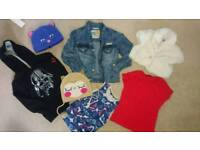 Girls clothes bundle size 6-7 years