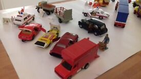 Collection of 1980s Corgi, Dinky Speedwheels and Matchbox Superkings vehicles