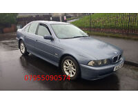 bmw 5 series 525 se turbo diesel automatic 2002 52 plate