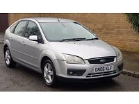 FORD FOCUS TITANIUM 1.6 PETROL 2006 06REG LOW MILES NEW MOT JUST BEEN SERVICED PX TO CLEAR