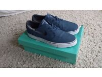 New Nike Stefan Janoski trainers shoes blue size uk 11 fits uk 11.5