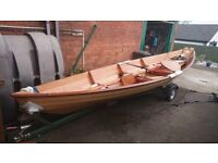 NORTHEASTER 17' DORY , ROW AND SAIL IT , £3500 price reduced