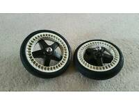 Set of bugaboo bee wheels