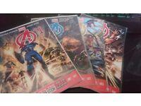 Marvel Avengers 1-4 Marvel Now