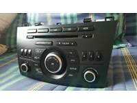 Mazda radio cd player