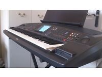 In excellent working order is a Yamaha PSR 8000 keyboard, Incl. Stand, Sustain Pedal &Manual. £285