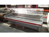 Serve Over Counter Display Fridge Meat Chiller 252cm (8.3 feet) ID:T2325