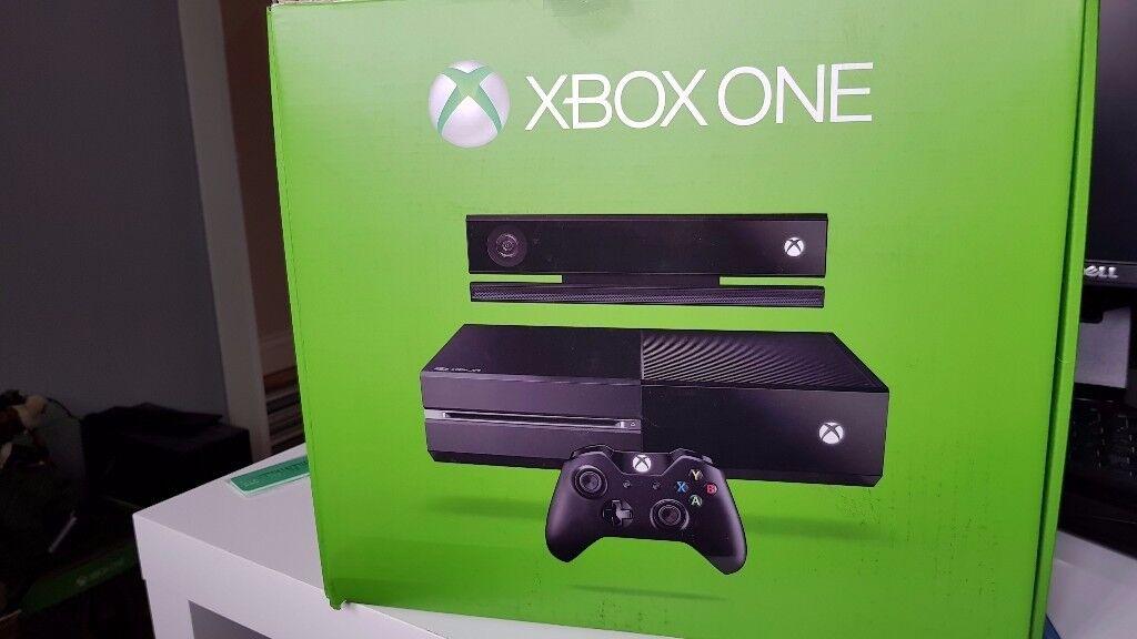 500 GB Orginal Xbox with Kinect