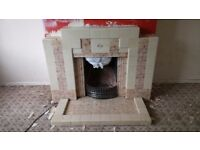 Vintage fire surround / fireplace