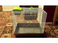 bird cage used as budgie cage