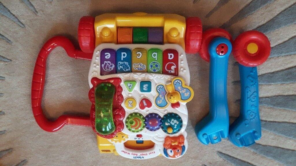 Electronic baby walker