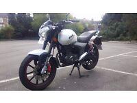 KSR Moto Code X 125cc 2014 5011 MIles