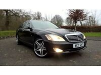 mercedes benz s class 320 cdi finished in gleaming black