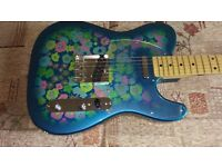 FENDER CLASSIC 69 BLUE FLOWER TELECASTER (Sale/Trade)