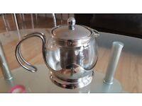 Sabichi 750 ml Teapot, Silver, 14 x 17 x 14 cm - Stainless steel finish