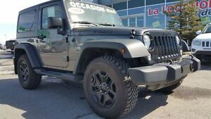 2014 Jeep Wrangler willy's garantie prolongée  VENTE DE FEU!!!