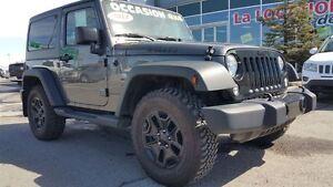 2014 Jeep Wrangler willy's garantie prolongée  VENTE DE FEU!!!