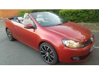 2012 VOLKSWAGEN GOLF 1.4GT TSI CONVERTIBLE CABRIOLET SIMILAR TO A3 MINI FOCUS CASCADA