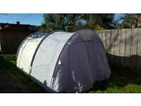 3 tents and camping equipment