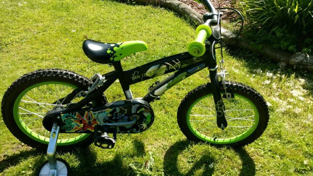 Boys bike, 14 inch wheels, suit 4_6 years
