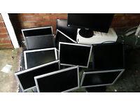 10 x monitors