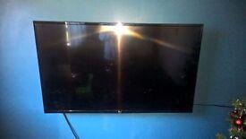 "LG 49UH610v Smart 4K Ultra HD 49"" LED TV with receipt"