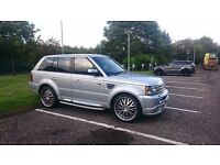 "RANGE ROVER SPORT - PROJECT KAHN 22""ALLOYS, DVD"