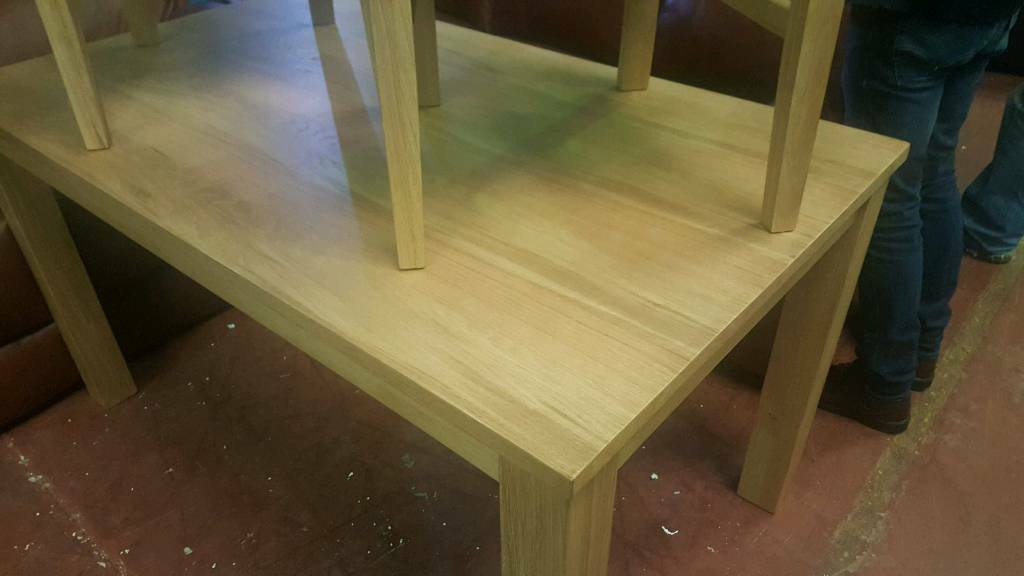 Oak new in box 4 seater dinning table