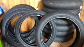 MotorCycle Race Tyres /scrubs