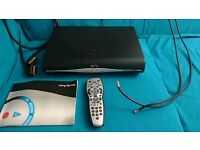 Sky HD box with all the accessories