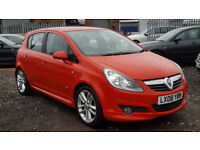 2008 VAUXHALL CORSA 1.2 SXI 5 DOOR + VXR STYLING PACK + S/HISTORT + HPI CLEAR