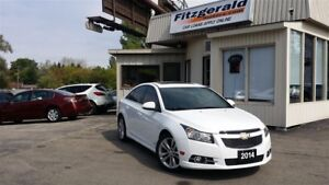2014 Chevrolet Cruze RS - LEATHER! NAV! BACK-UP CAM!