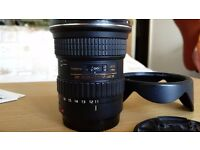 Tokina AT-X 116 PRO DX-II 11-16mm f/2.8 Lens - Canon mount
